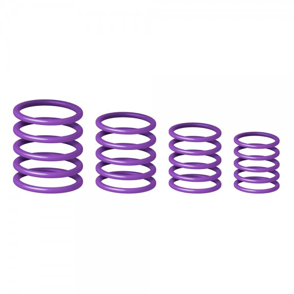 58660 Gravity RP5555PPL1 - Universeller Gravity Ring Pack, Power Purple