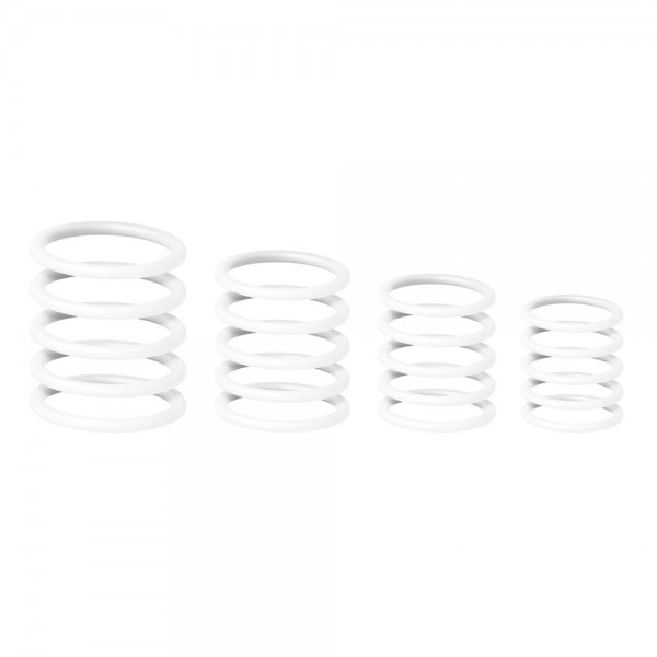 58662 Gravity RP5555WHT1 - Universeller Gravity Ring Pack, Ghost White
