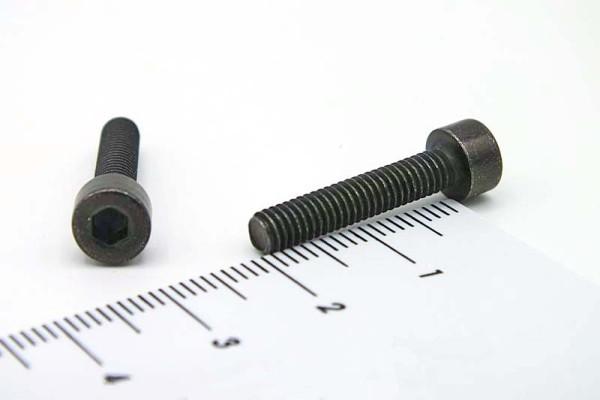 12425 Innensechskant Schraube schwarz verzinkt M4 x 20mm 10er Set