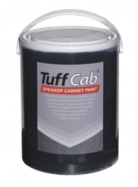 67140 5kg Tuff Cab® PRO Strukturlack Schwarz