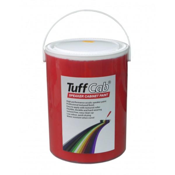12599 5kg Tuff Cab® Strukturlack RAL 3020 Verkehrsrot