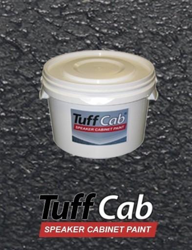 67142 2,5kg Tuff Cab® PRO Strukturlack Schwarz Seidenmatt