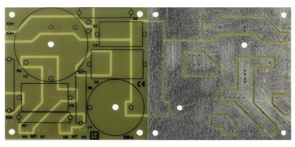 11039 LP-L3 2W Leiterplatte 2-Wege groß bis 18dB