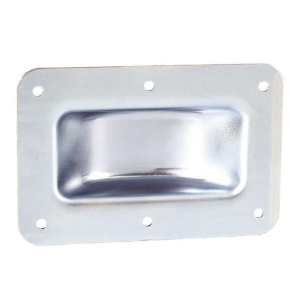 47943 Adam Hall 38083 - Stapel-Einbauschale Stahl verzinkt