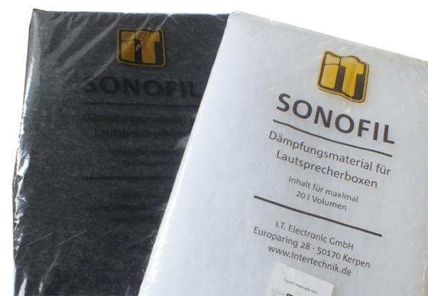 01654 Sonofil Vliesmatte schwarz