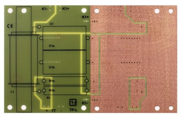 11040 LP-L3 TP Leiterplatte Tiefpass groß 12dB