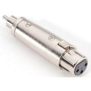 57559 Adam Hall Connectors 7868 - Adapter XLR female auf Cinch male