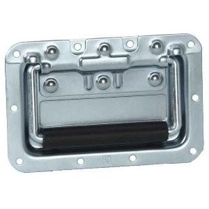 45953 Adam Hall 34082 - Klappgriff mittel gefedert in Einbauschale 8 mm tief