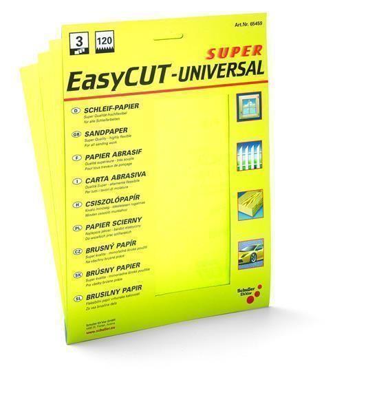 12786 Schleifpapier Easycut-Universal 3er Set