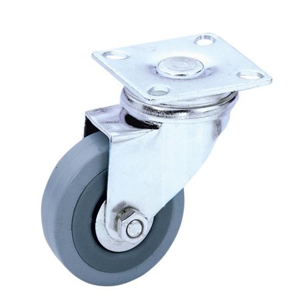 57089 Guitel 3701 - Lenkrolle 50 mm mit grauem Rad