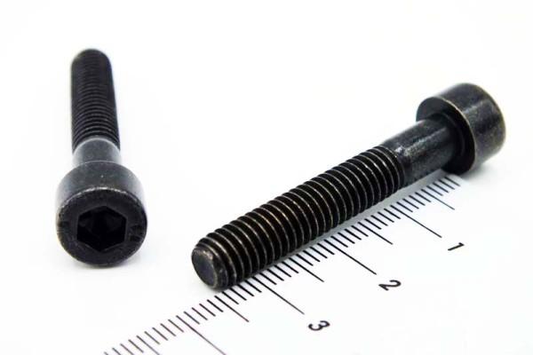12443 Innensechskant Schraube schwarz verzinkt M6x35mm 10er Set